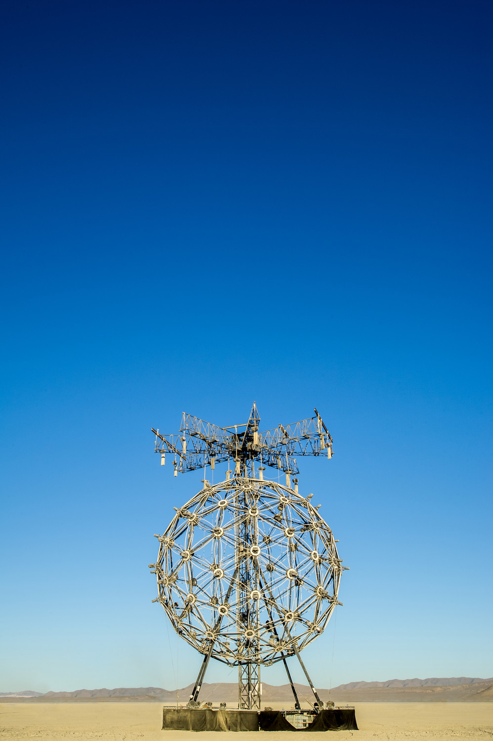 Burning Man Art Object