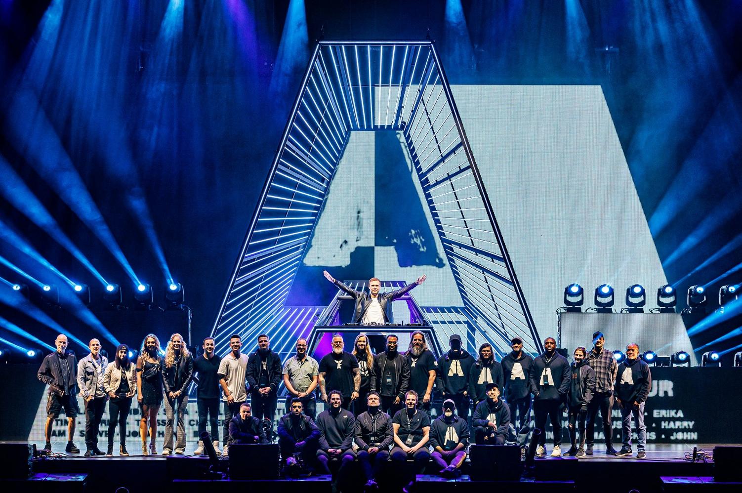 Armin van Buuren US Balance Tour Crew