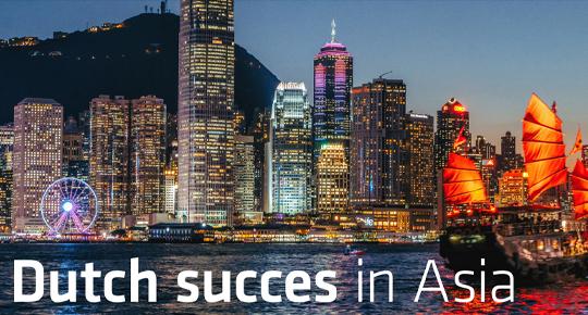 EBLive: Dutch succes in Asia